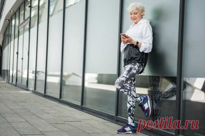 Как одеваться современной женщине-пенсионеру — советы в Журнале Маркета