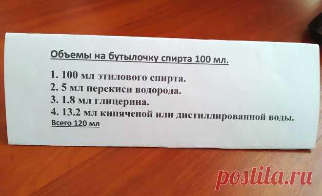 Антисептик для рук в домашних условиях по рекомендации ВОЗ   Мастер-Ок   Яндекс Дзен