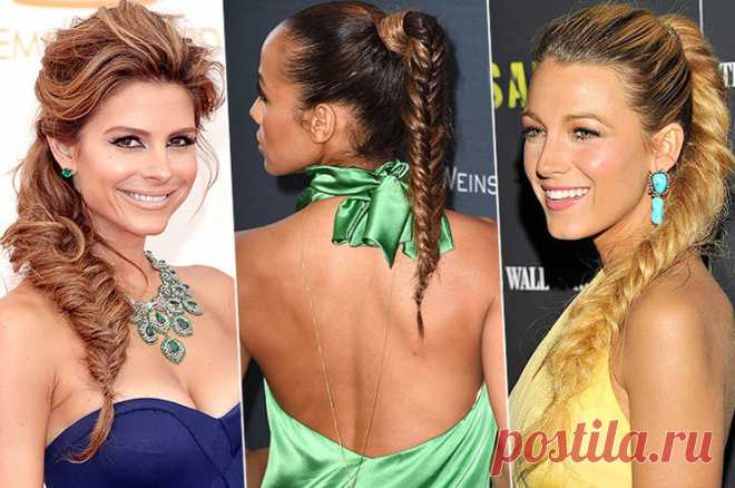 The most fashionable laying of summer: 5 steps independently to braid \