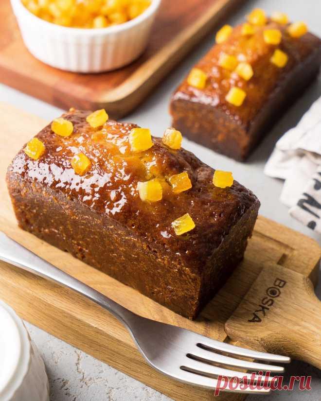 Апельсиновый кекс с цукатами и миндалём   Andy Chef (Энди Шеф) — блог о еде и путешествиях, пошаговые рецепты, интернет-магазин для кондитеров  