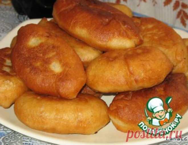 Пирожки на заварном дрожжевом тесте – кулинарный рецепт
