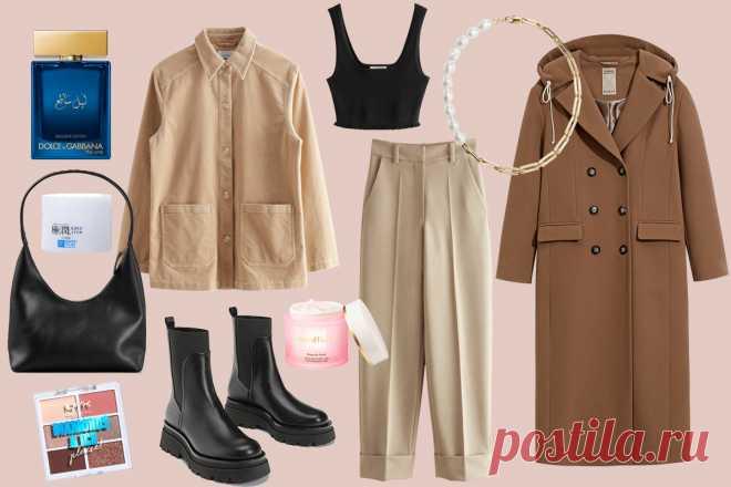 Как носить брюки и короткий пуховик: 3 образа для первых весенних выходных - Мода - Леди Mail.ru