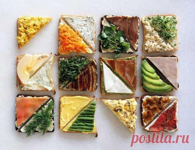 167bcce08a67 6 идей для полезных и очень вкусных бутербродов Сохрани себе пригодится! 1.  Цельнозерновой хлеб