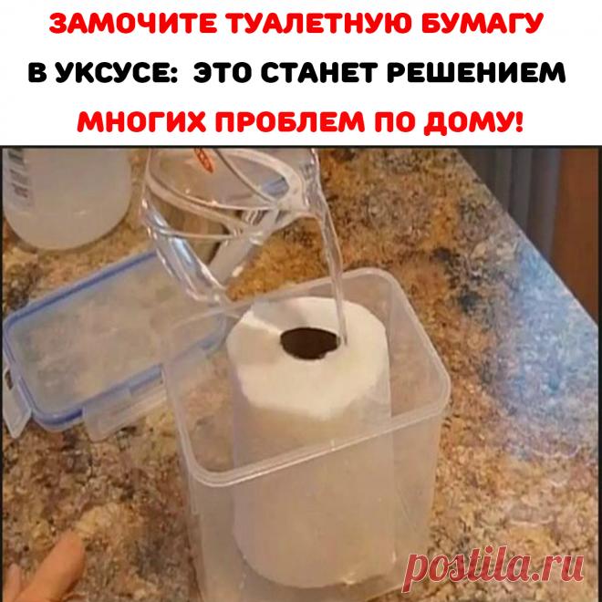 По данным ученых, если смочить в уксусе рулон туалетной бумаги, а затем протереть ею грязную поверхность, то можно решить эту проблему благодаря удивительным дезинфицирующим свойствам указанного продукта.Белый уксус является продуктом, который использовался даже нашими бабушками. Имейте в виду, что это отличное антибактериальное средство, которое можно использовать даже при небольших ранах и порезах. Белый уксус – это невероятное крутое решение проблем при утечке серы
