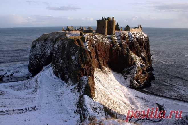 «Даннотар неприступный замок Шотландии» — карточка пользователя ut20061 в Яндекс.Коллекциях