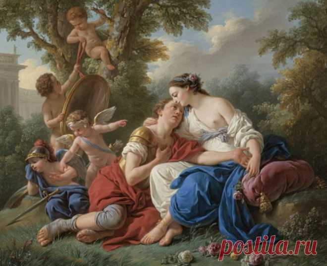 ФРАНЦУЗСКИЙ ХУДОЖНИК LOUIS JEAN FRANÇOIS LAGRENEE (1724 — 1805)