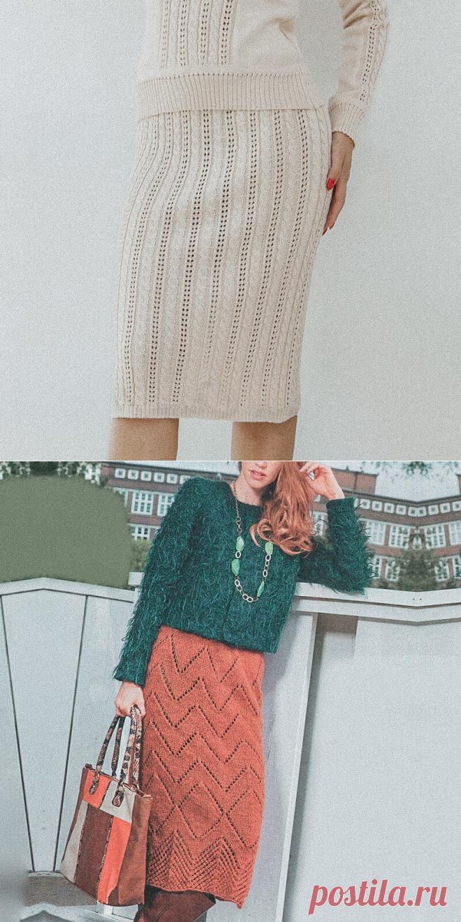 4 обещанные модели спицами со схемами. Топ, джемпер, юбки | Вязунчик — вяжем вместе | Яндекс Дзен