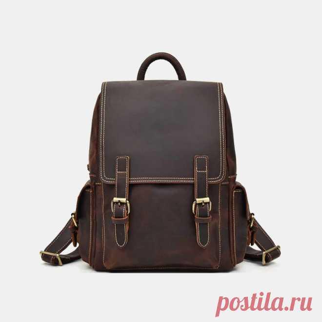 Men Large Capacity Multi-pocket Multifunction Backpack - US$69.99