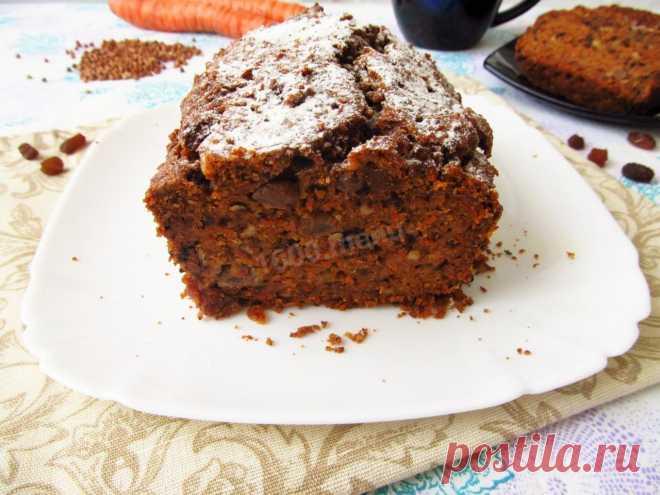 Морковно-гречневый кекс рецепт с фото пошагово - 1000.menu