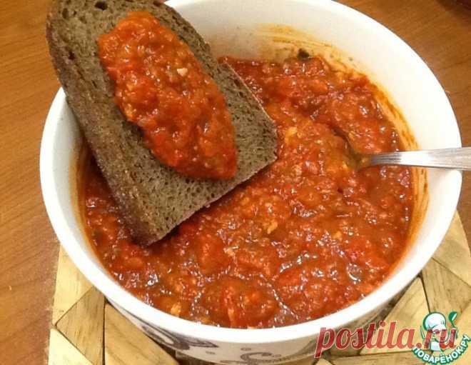 Аджика по рецепту из Карабаха – кулинарный рецепт