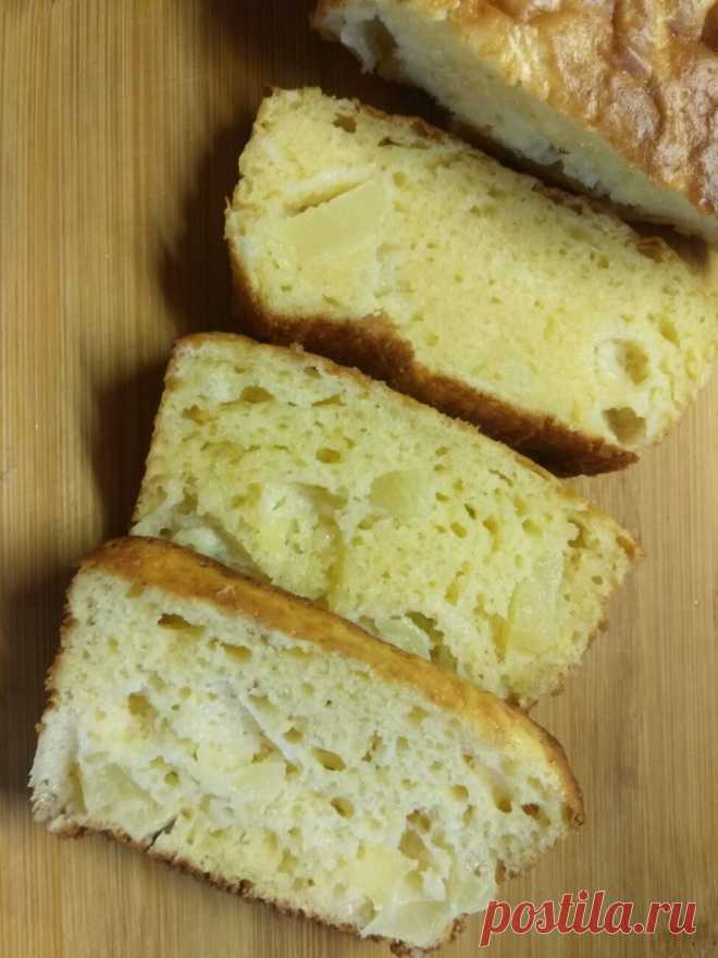 Кекс с консервированными ананасами рецепт с фото пошагово