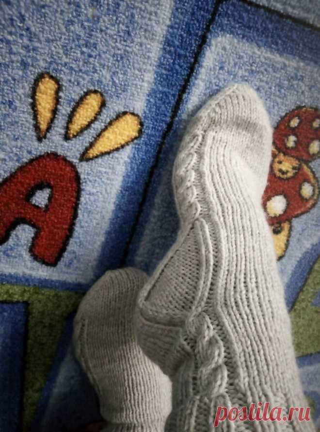 Нетипичные, но симпатичные носки по