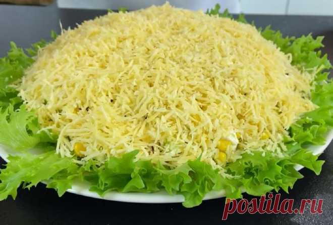На Новый год собралась приготовить слоеный салат