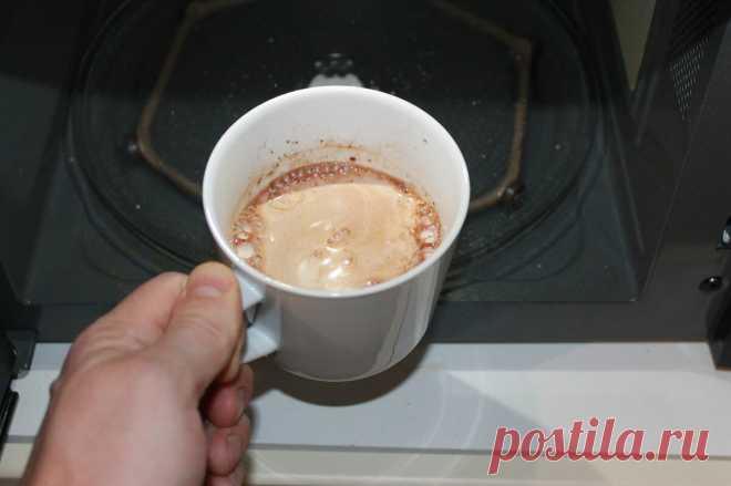 Теперь готовлю только так. Рецепт приготовления какао в микроволновке. Получается лучше, чем в кафе | ТехноГурман | Яндекс Дзен