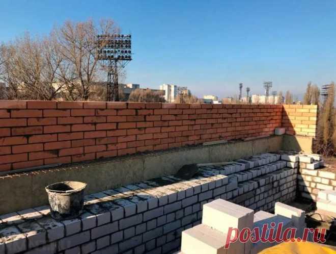 Какой толщины должны быть стены в частном доме?