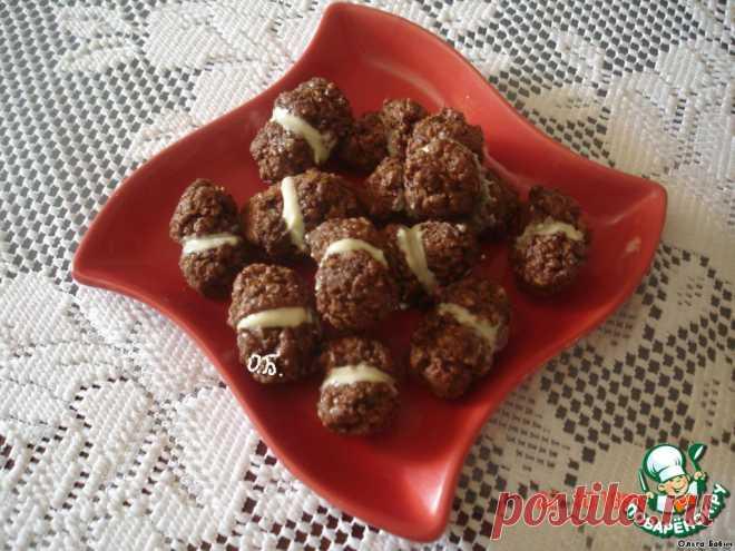 """Итальянское шоколадное печенье """"BACI"""" без муки"""