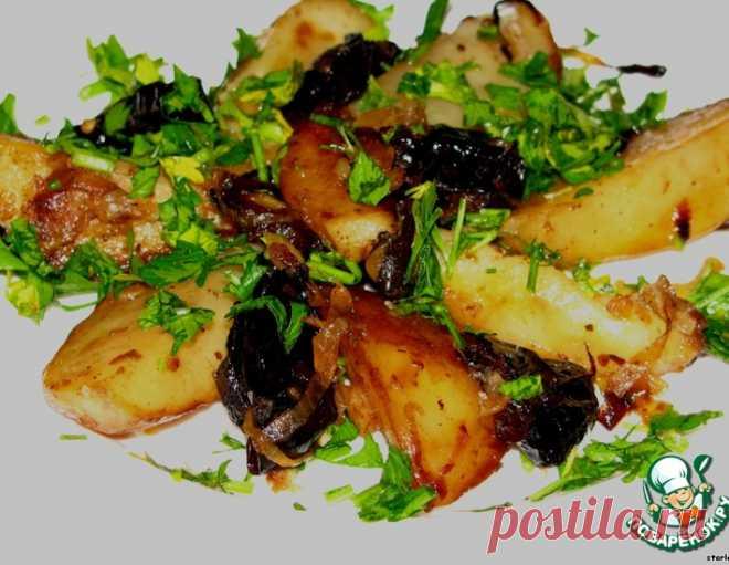 Картофель с черносливом – кулинарный рецепт