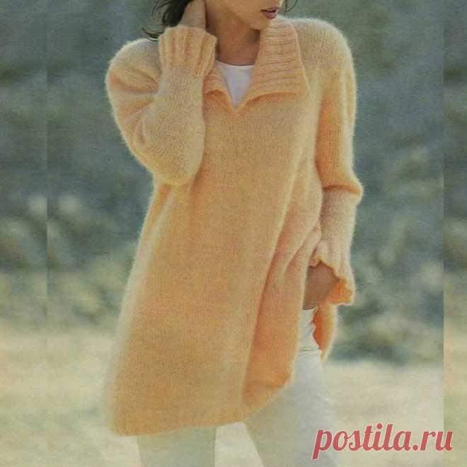 Готовимся к осени Вяжем из мохера пуловеры, туники, кардиганы   Всё лучшее - маме   Яндекс Дзен