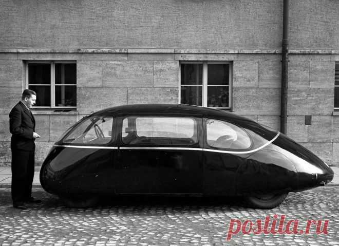 Самый аэродинамически совершенный автомобиль был создан до войны   АвтоИстория   Яндекс Дзен