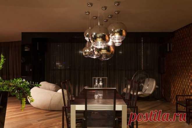 Дизайн интерьера 4-комнатной квартиры 130 кв. м.