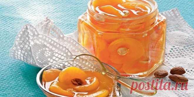 Закрываем абрикосы - 9 лучших рецептов!  1. Абрикосовое варенье   Абрикосовое варенье – такое нежное, такое солнечное и такое вкусное! В этом рецепте вы узнаете как приготовить прозрачное варенье из абрикосов. Ингредиенты:  абрикосы сахарны…