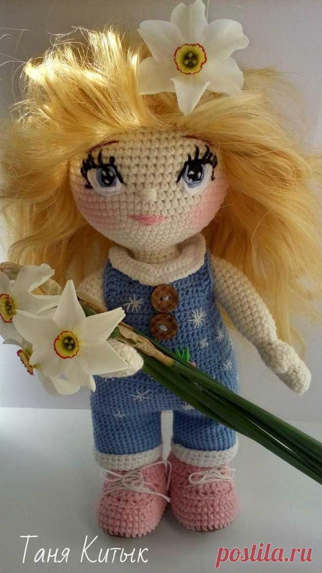 Куколка-красотка от Татьяны Китык по мотивам Фото Татьяны Благовещенской! Обалденная куколка для игр и украшения! Описание ищем тут: https://vk.com/topic-129094073_35725126 #ИгрушкиКрючком #ОписаниеИгрушек_Куклы