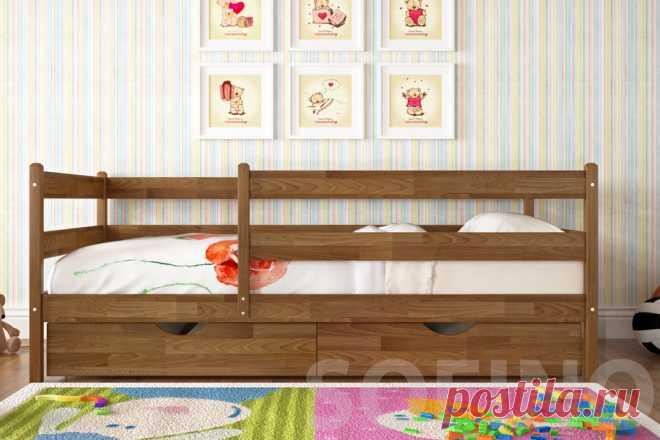 Безопасные кровати для детей, интернет магазин мебели sofino.ua