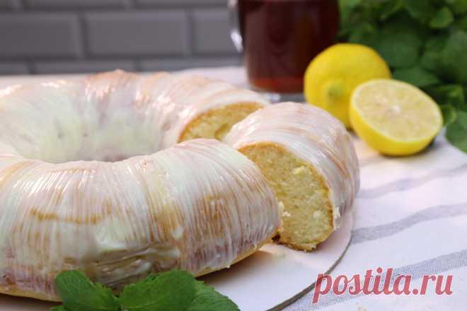 Лимонный пирог на сметане. Шикарный и очень простой рецепт | Как Вкусно! С Ириной Юхновец | Яндекс Дзен