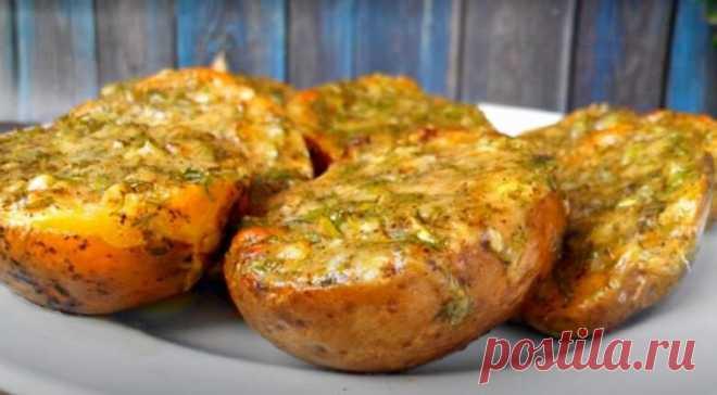 Чесночная картошка - любимое блюдо моего мужа. Делюсь рецептом | Книга Рецептов | Яндекс Дзен