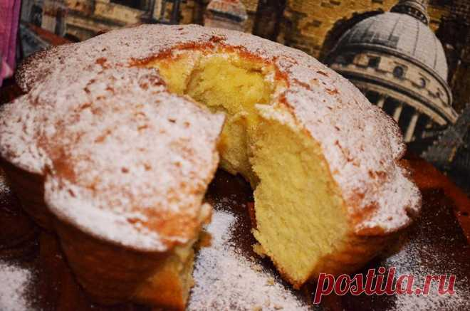 Лимонный кекс - рецепт с фото - как приготовить - ингредиенты, состав, время приготовления - Дети Mail.Ru