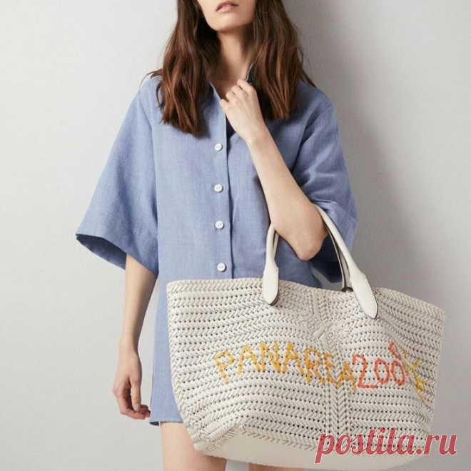 Пляжная сумка с вышивкой Модная одежда и дизайн интерьера своими руками