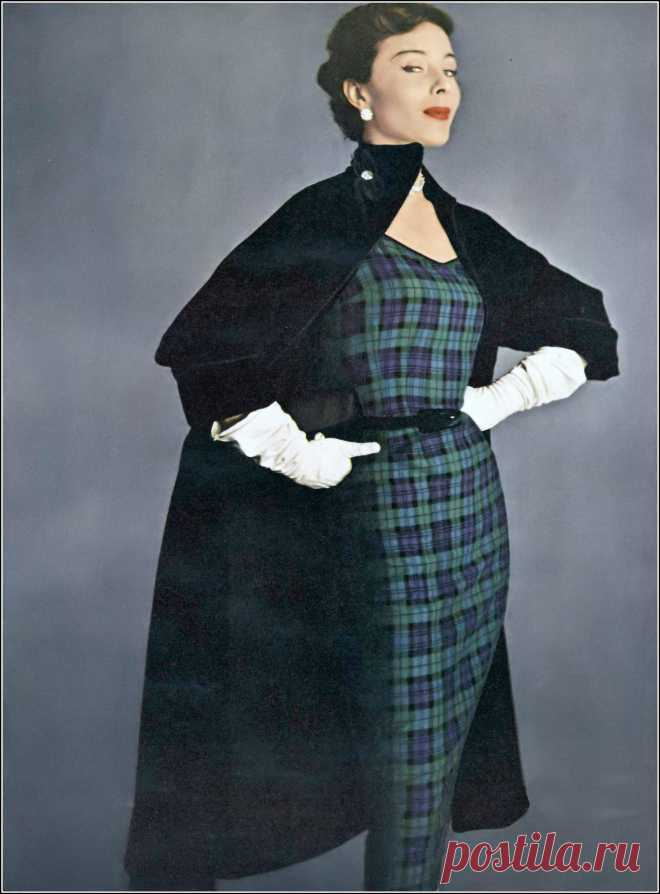 Bettina, photo by Irving Penn, Vogue, August 15, 1950