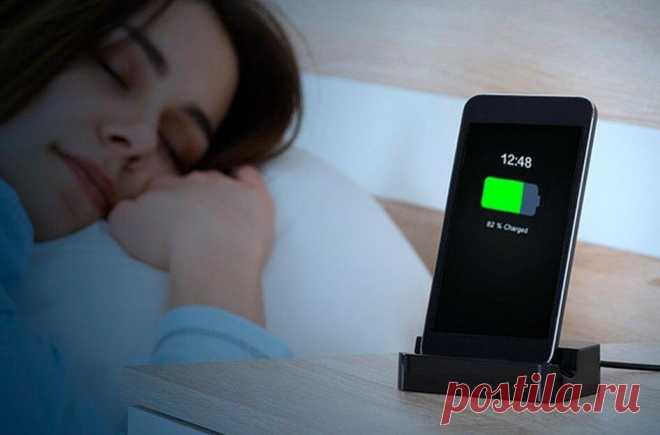 Почему не следует класть сотовый телефон на тумбочку возле кровати   Энергофиксик   Яндекс Дзен
