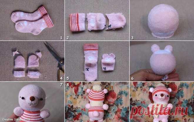 Как самой сделать ребенку игрушку