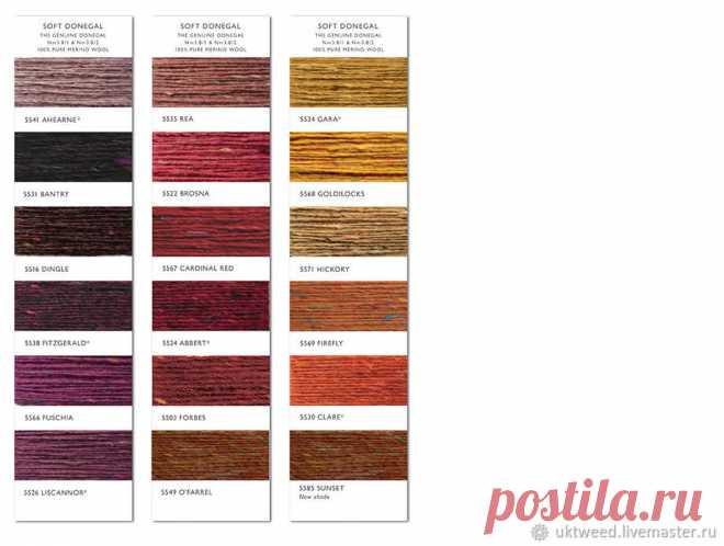 Soft Donegal Tweed-100 меринос – купить в интернет-магазине на Ярмарке Мастеров с доставкой Soft Donegal Tweed-100 меринос - купить или заказать в интернет-магазине на Ярмарке Мастеров | Пряжа Софт Донесла он 5566.  Цена за…