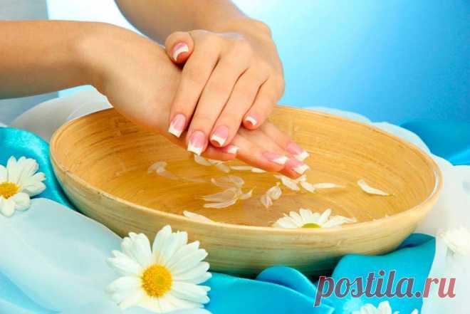 Народные средства для укрепления ногтей в домашних условиях