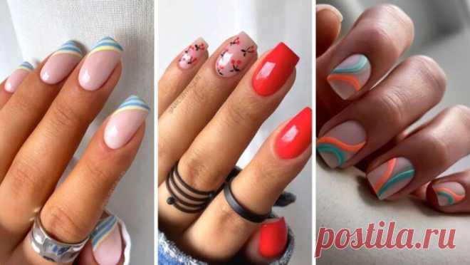 Яскраві кольорові нігті на літо – ВСЕ ПРОСТО