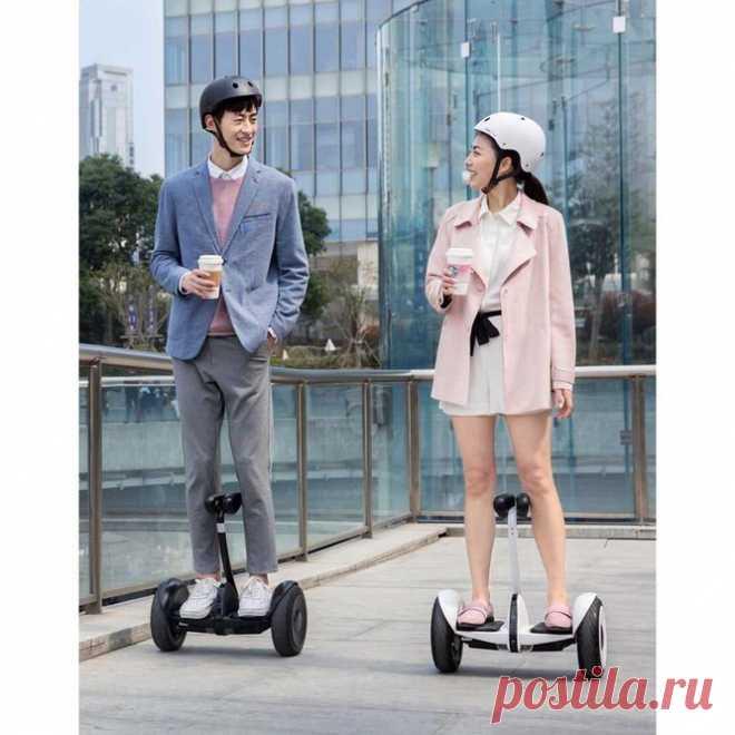 Segway-Ninebot S (белый) - характеристики фото купить цена в Минске
