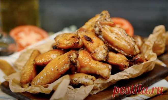Рецепт маринада для хрустящих крылышек