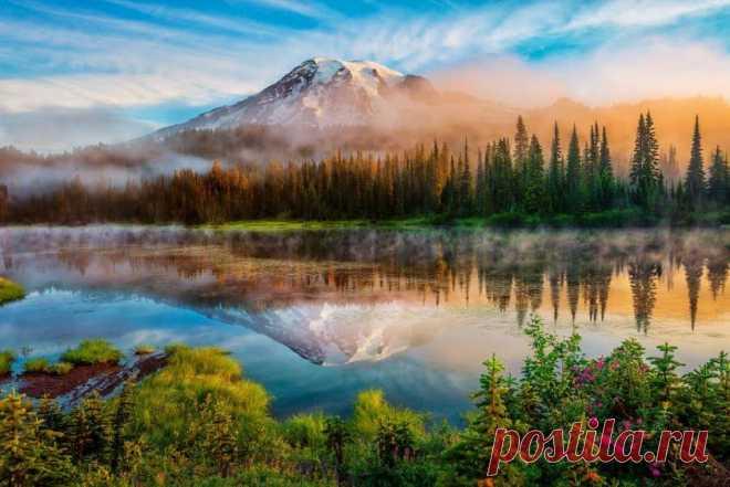 Каскадные горы, Вашингтон .. Cascade Range, Washington..
