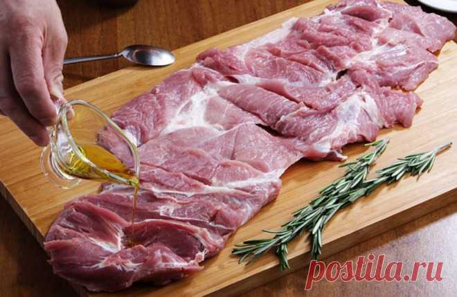 Рецепт настоящего итальянского рулета из свинины Поркетта (Porchetta)  