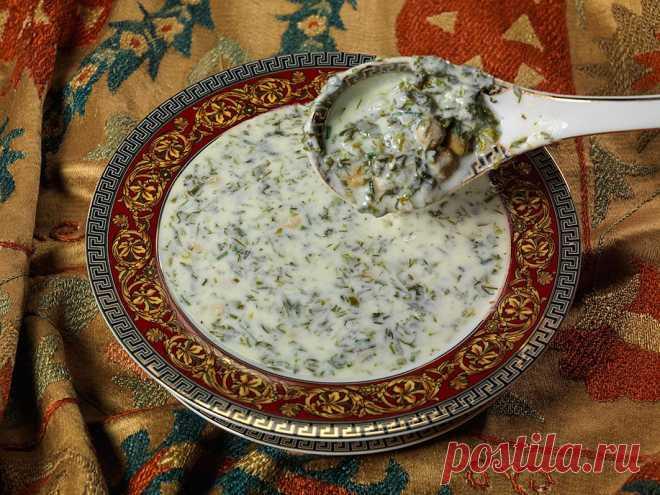 Что съесть в жару? Азербайджанский суп Довга.