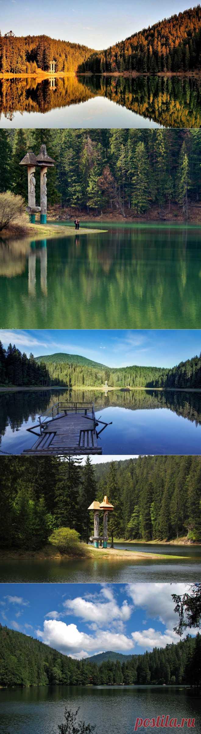 «Морское око» в сердце Карпат: высокогорное озеро Синевир (Украина) - Terra-Z