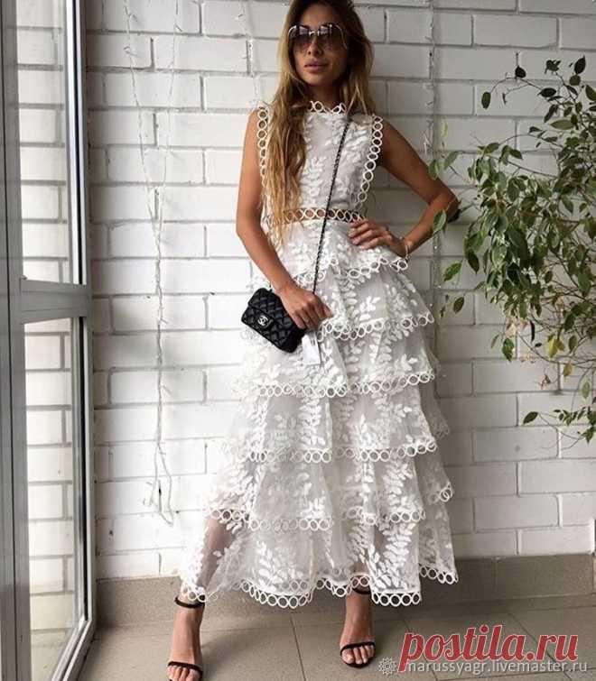 46664017808 Летнее платье – купить в интернет-магазине на Ярмарке Мастеров с доставкой Летнее  платье -