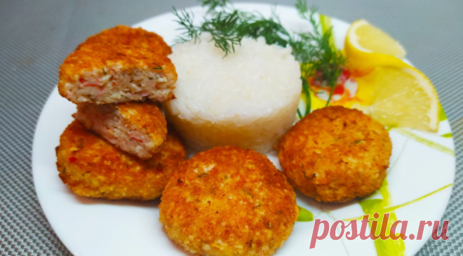 Повар из Балаклавы научил готовить вкуснейшие котлеты из рыбы со вкусом краба!