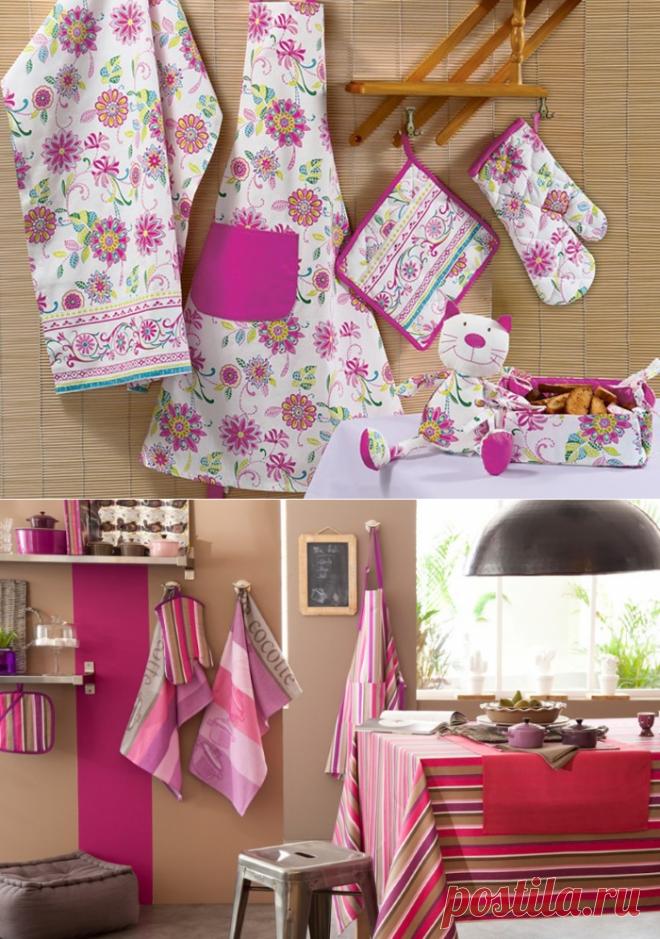 Текстиль для кухни в интерьере: кухонные шторы своими руками