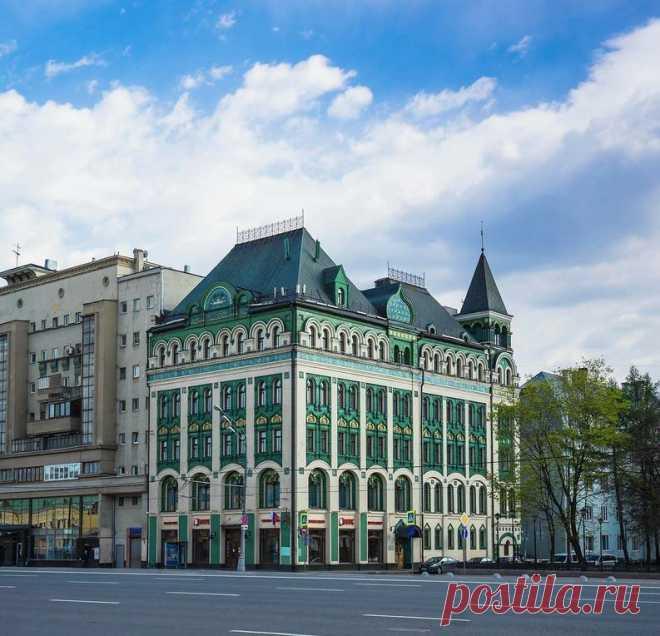 Для кого построили необычный зелёный дом с изразцами на Сухаревской?   О Москве нескучно   Яндекс Дзен
