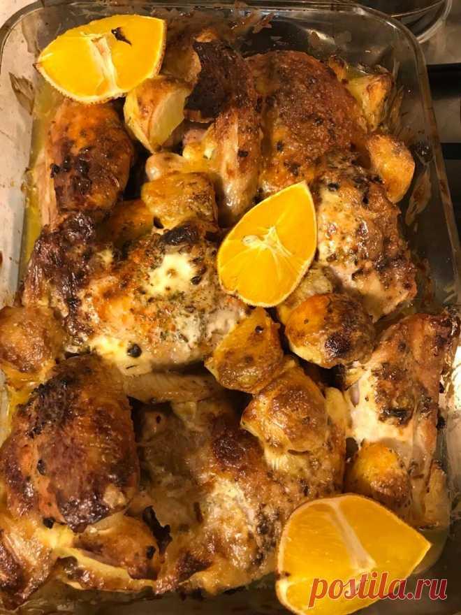 Сочная курица в апельсинах   365 дней на кухне и в саду   Яндекс Дзен