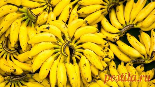 Зачем есть бананы почаще