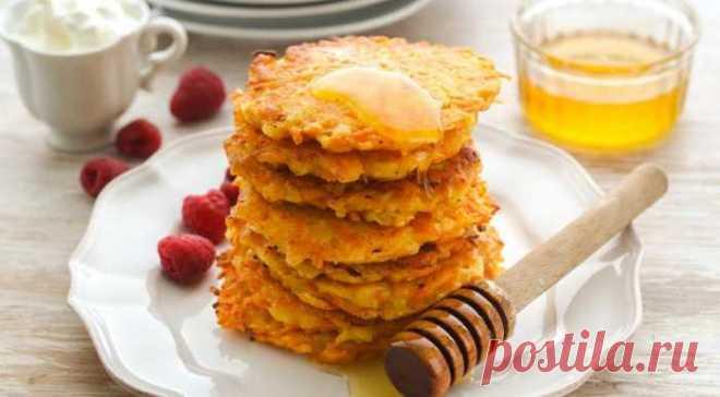 Оладьи из яблок и моркови: идеальный ПП-завтрак — 🍎 Сад Заготовки